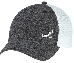 Launch Baseball Cap - Lower Right Logo